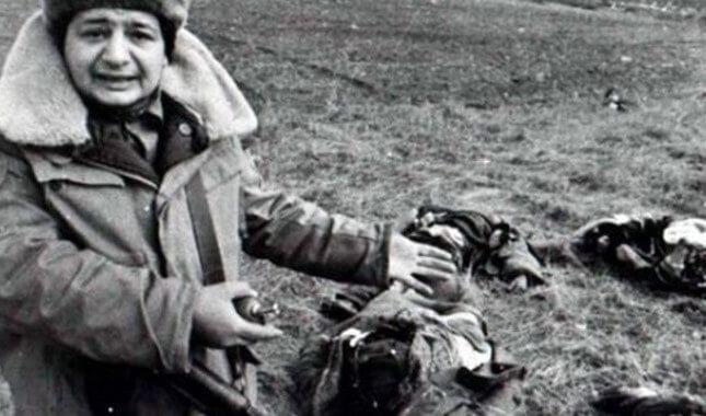 A scene from Hocali Massacre - Nation Of Turks