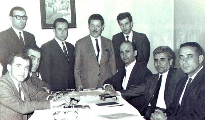 Altan Zeki Unver - Kalkinma Vakfi Kuruculari - TKV Mütevelli Heyeti'nin ilk toplantısı Ocak 1969