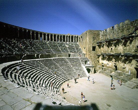 Aspendos Turkey Ancient City