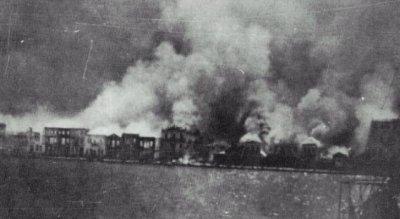 Burning Izmir
