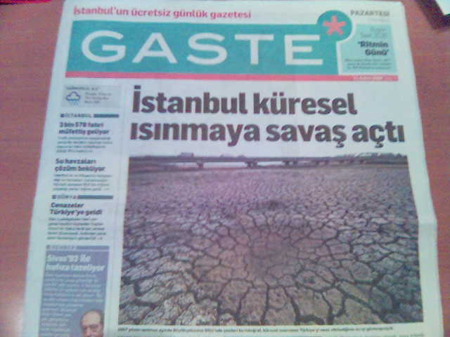 Gaste - Turkish Newspaper