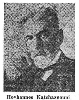 Hovannes Katchaznouni - Nation Of Turks