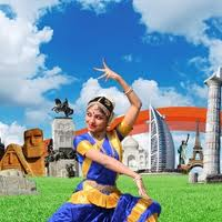 Dancing girl - Tourism Exhibition in Istanbul - Nation Of Turks