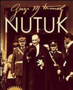 Ataturk's signature on Nutuk