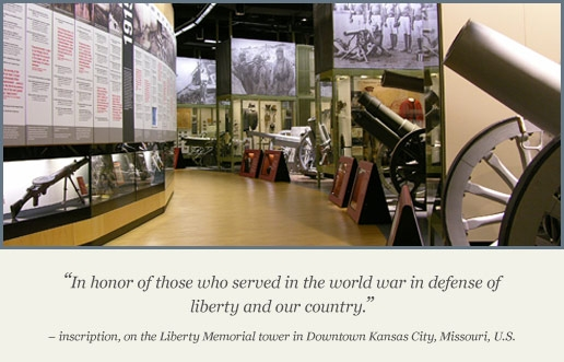 National World War 1 Museum at Liberty Memorial in Kansas City