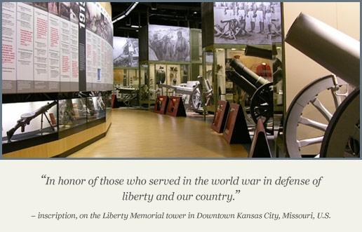 National World War 1 Museum at Liberty Memorial in Kansas City