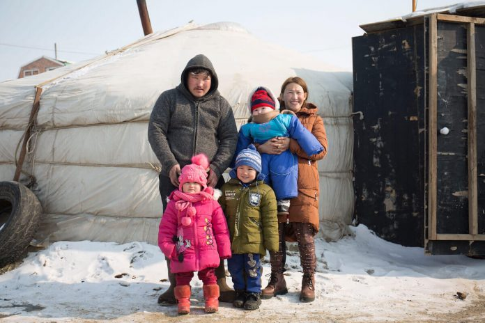 Ulan Batur of Mongolia