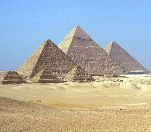 Figure 5. Pyramids at Giza