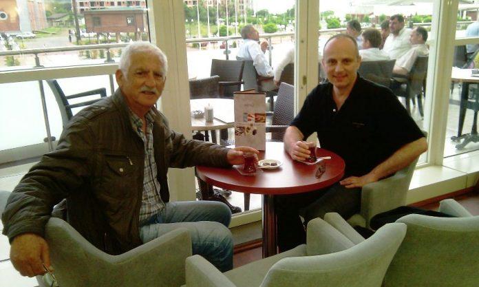 Tea at the Cevahir Cafe at the Cevahir Shopping Centre