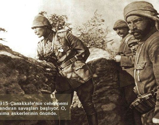 Ataturk at Canakkale War