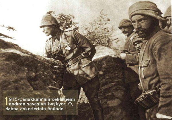 Ataturk at Canakkale War
