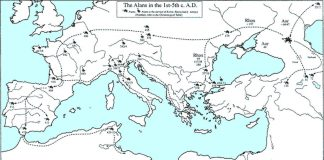 The Alans in the 1st-5th C. A.D.