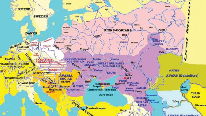 Old Great Bulgaria - Nation Of Turks